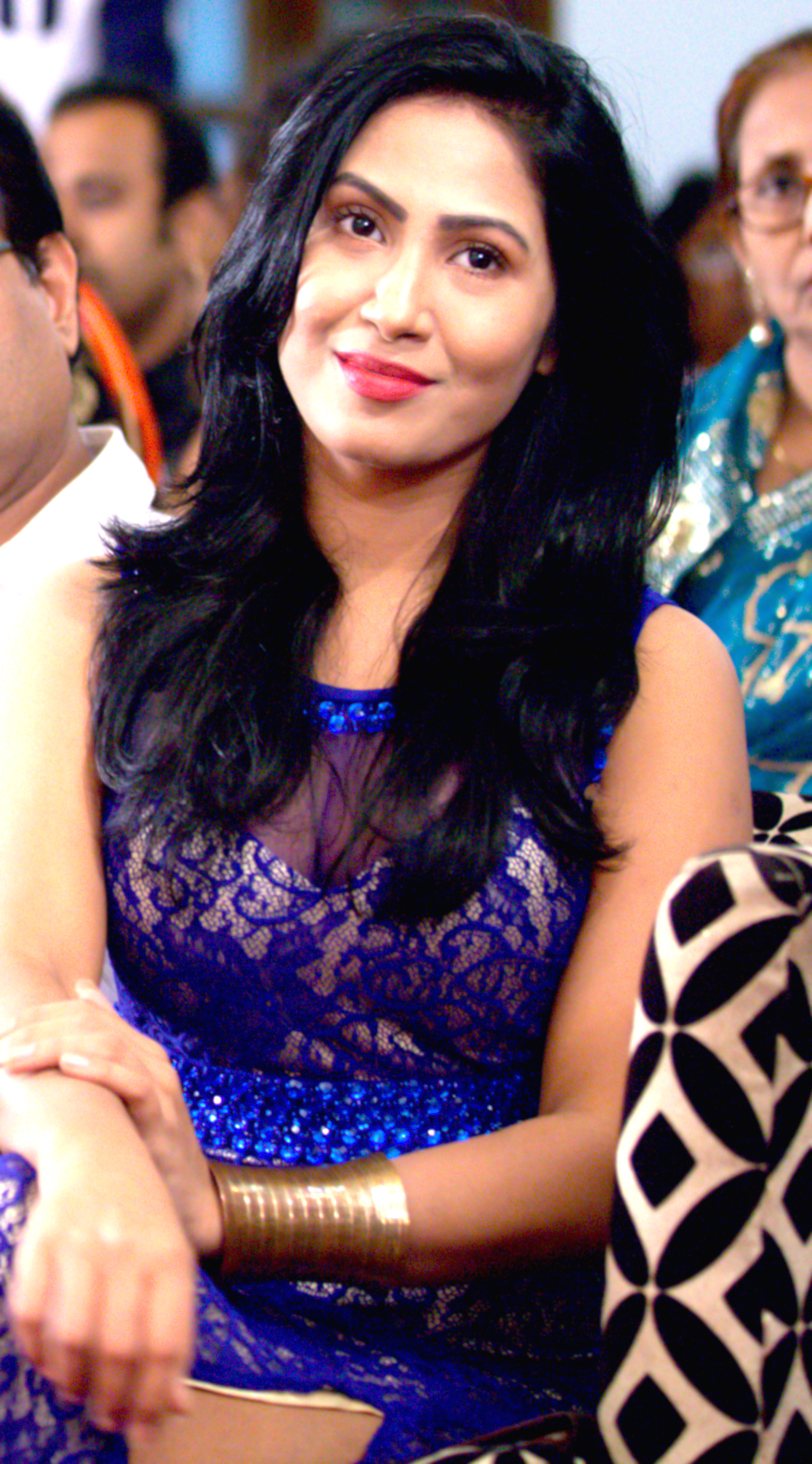 File Alisha Pradhan At The Audio Launch Of Her Debut Movie