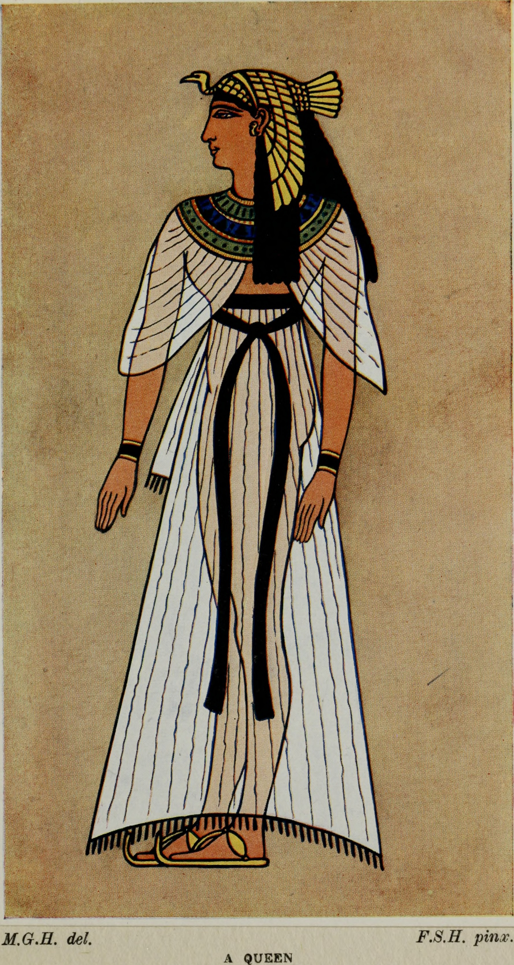 file ancient assyrian and costumes and