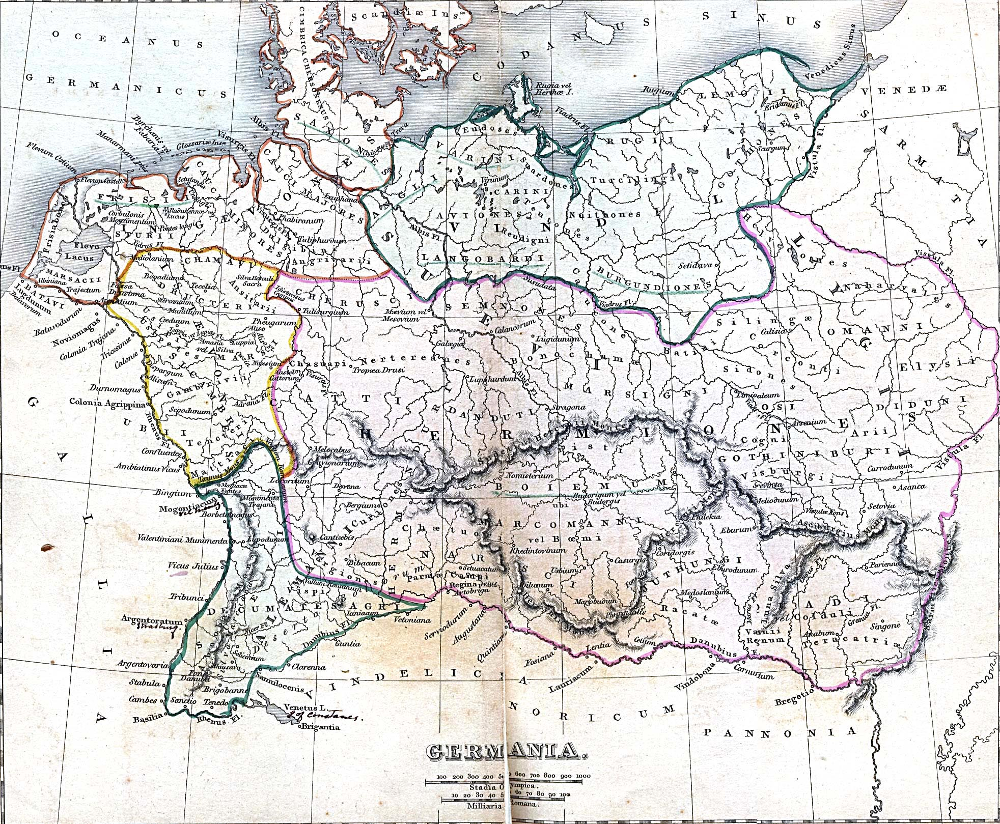 "Germania: ""A Classical Atlas of Ancient Geography"""