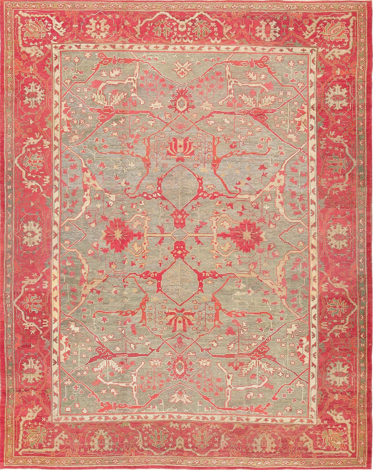 antique red turkish oushak carpet.jpg