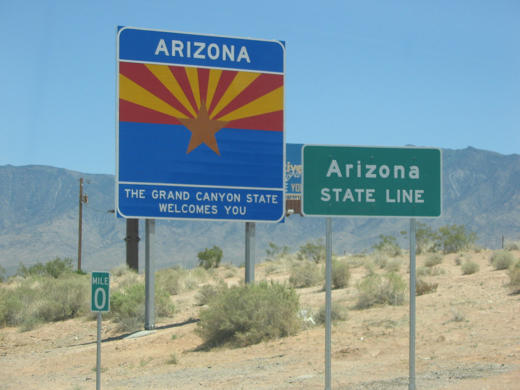 Image result for Arizona state sign