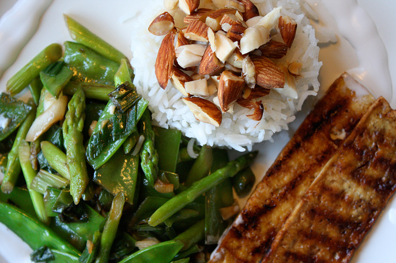 Image result for rice asparagus