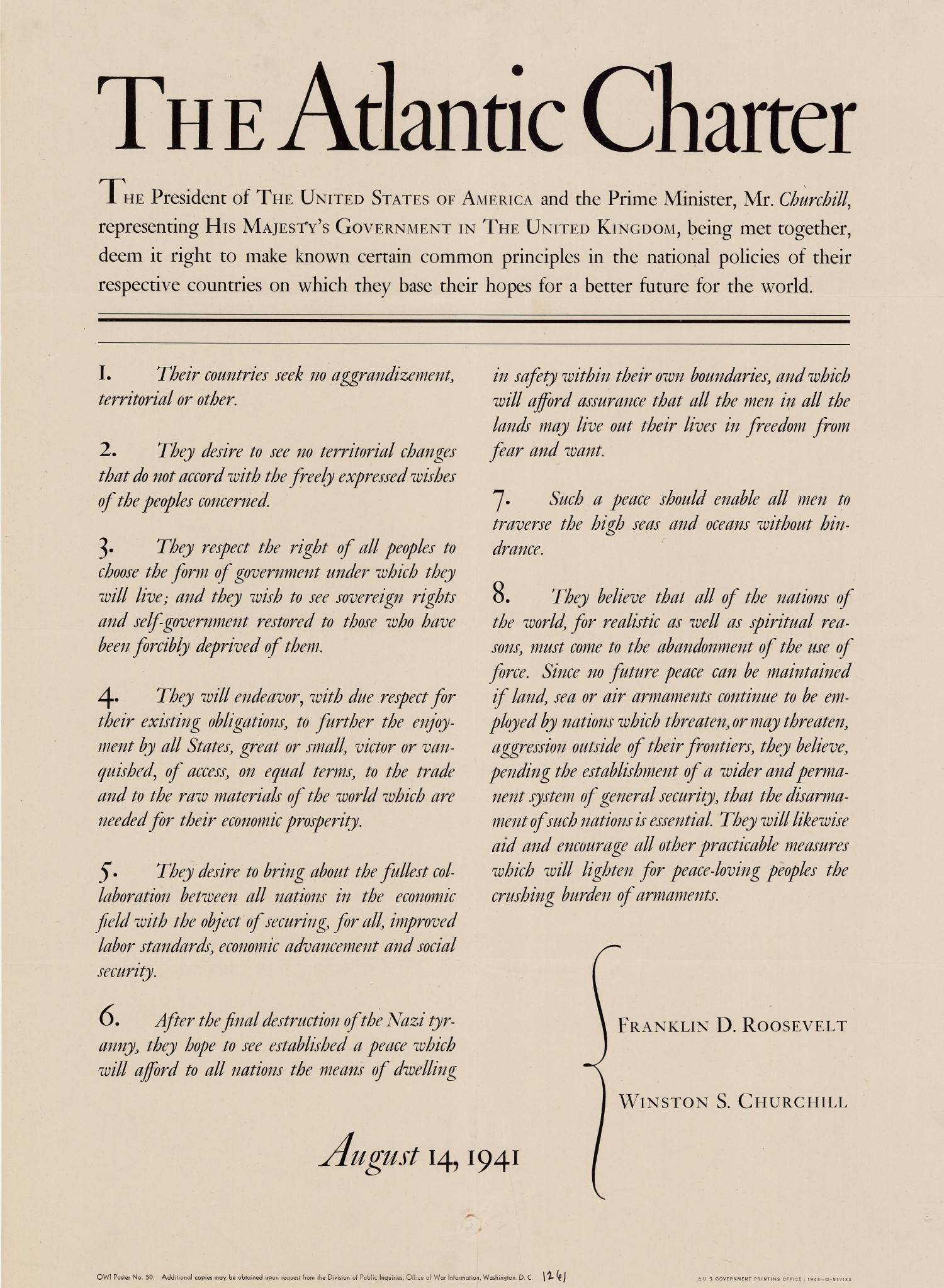 """roosevelt and churchill inspire the nation essay Editor's essay – consistency of principle: a churchillian characteristic  """"for  instance, so few have grasped that churchill saw in socialism, national  socialism and communism aspects of the  much of it was inspired by larry  arnn:  much more than roosevelt, churchill thought about governance among  free peoples."""