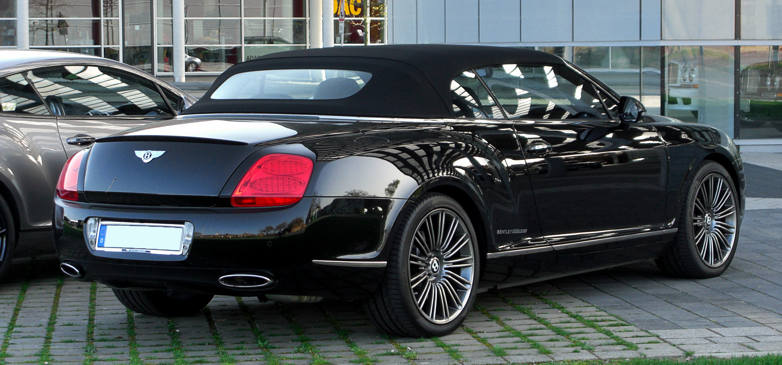 File Bentley Continental Gtc Speed Heckansicht 10