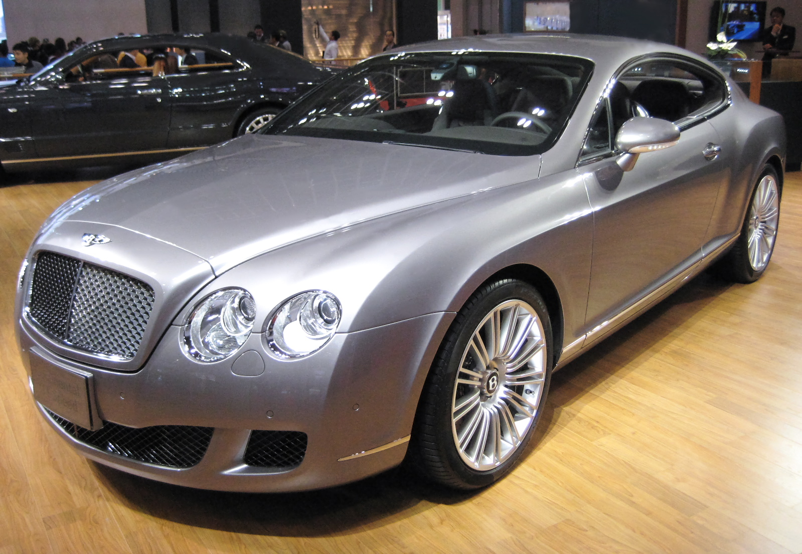 File Bentley Continental Gt Speed Jpg Wikipedia