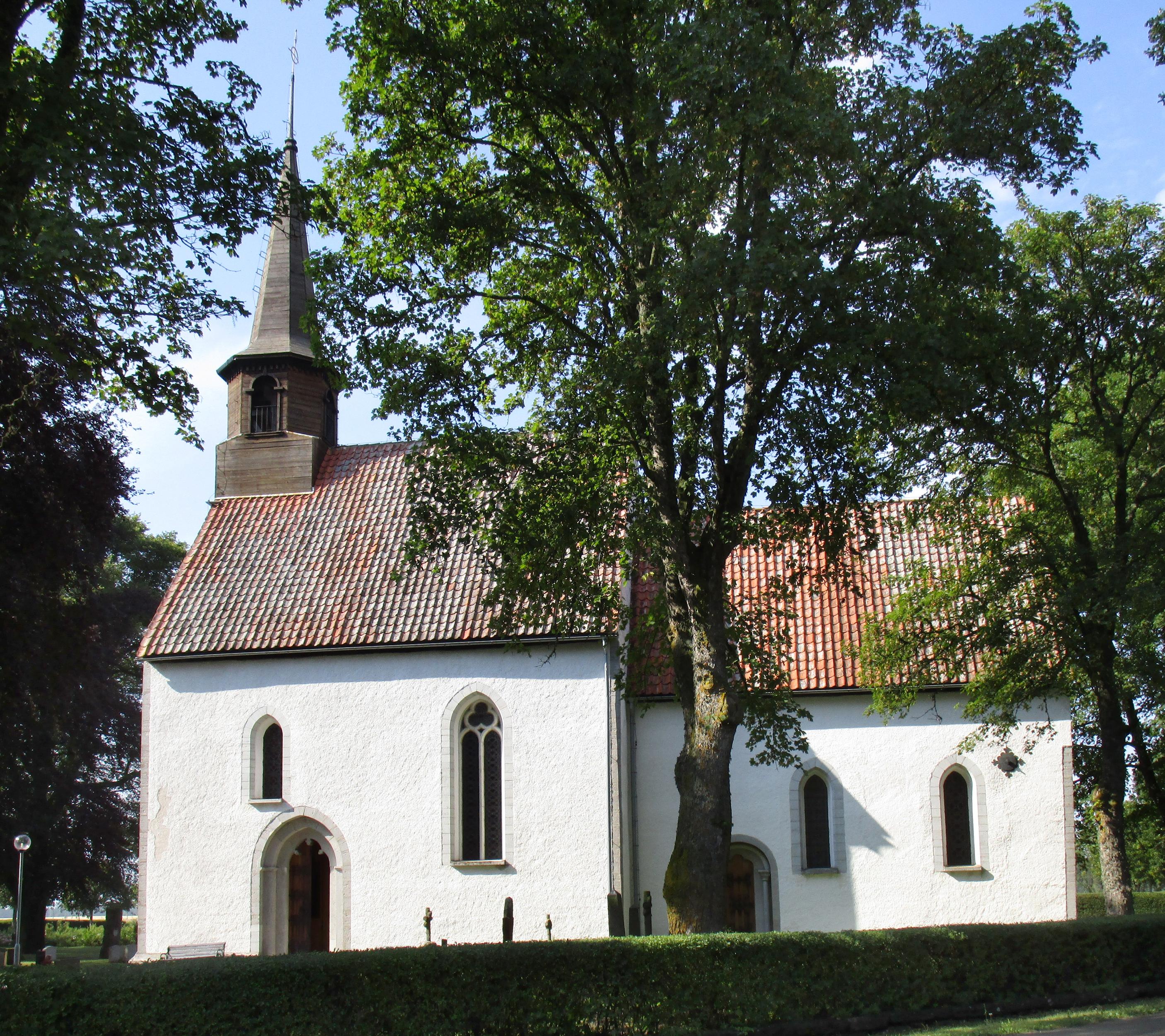 Bild av Björke kyrka