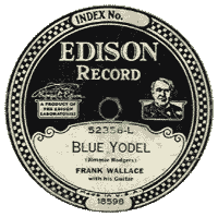 "Frankie Marvins ""Blue Yodel"" (1928)"