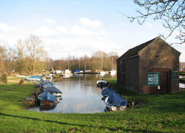 Boathouse by the staithe - geograph.org.uk - 1146654