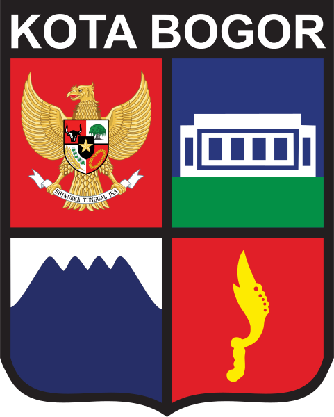 Coat of Arms of Indonesian city of Bogor.