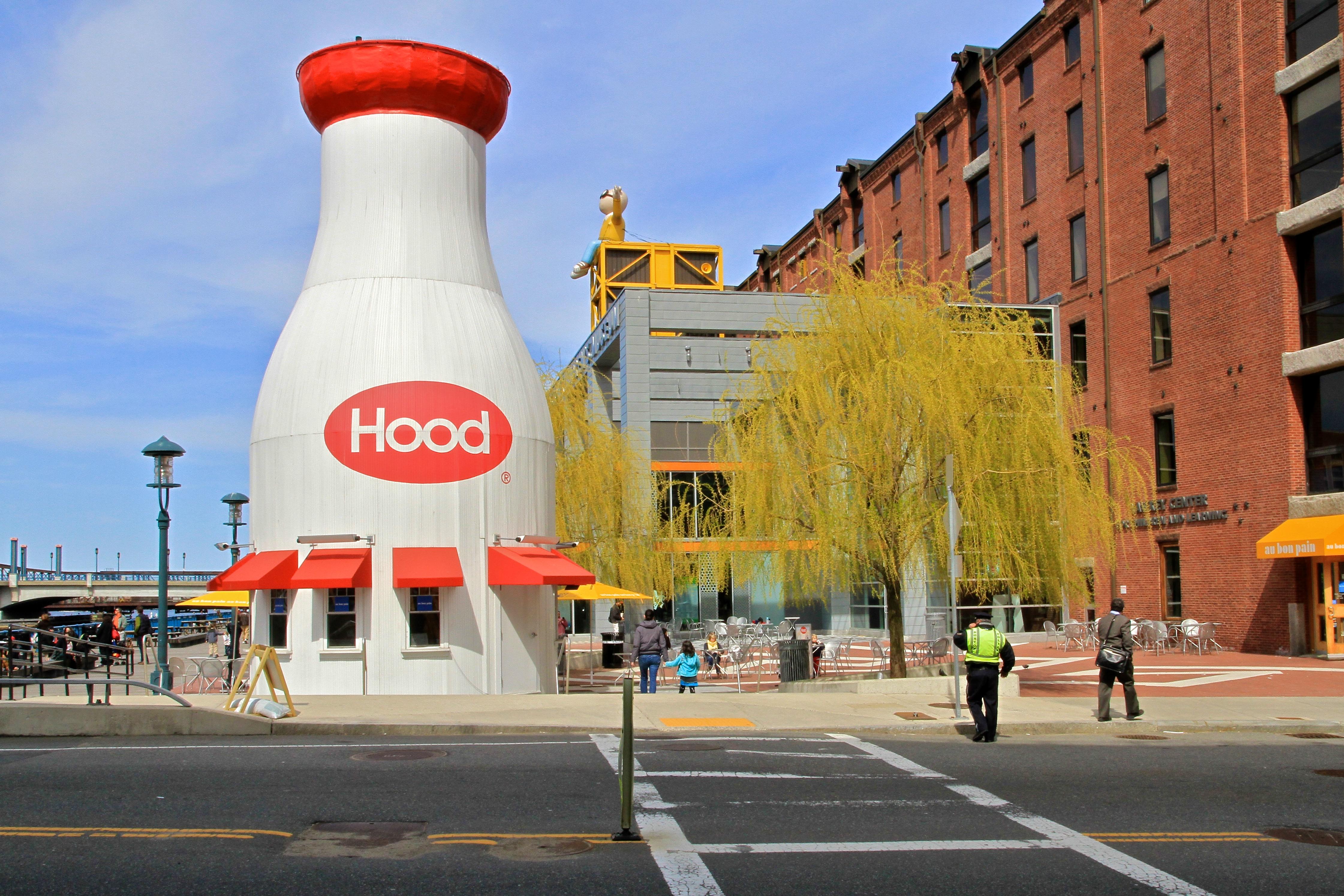 Boston, Museum Wharf, Hood Milk Bottle.jpg