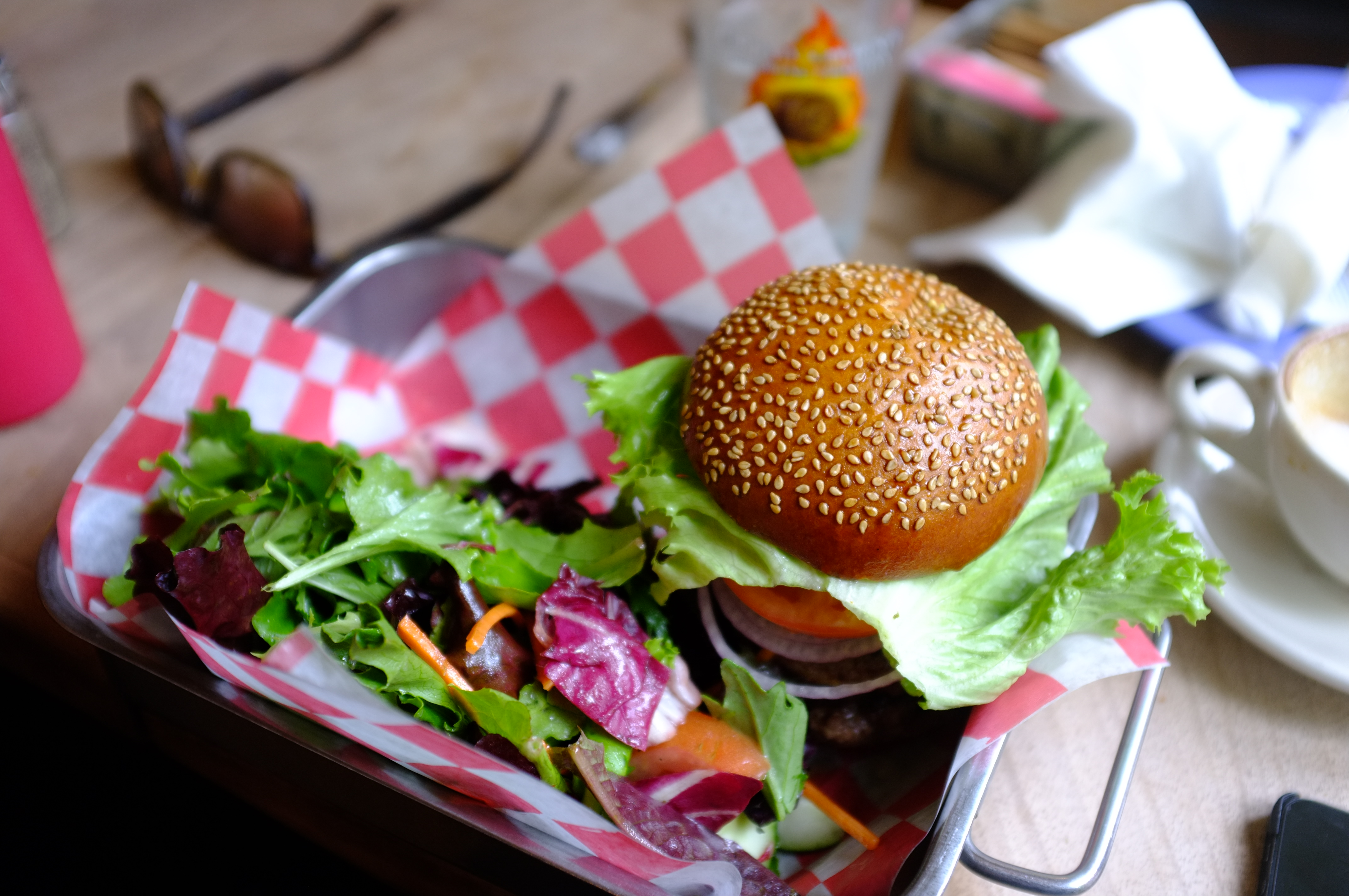File:Burger and a Salad (Unsplash).jpg - Wikimedia Commons