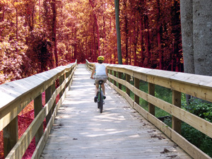 Cape Fear River Trail, in Fayetteville, North ...