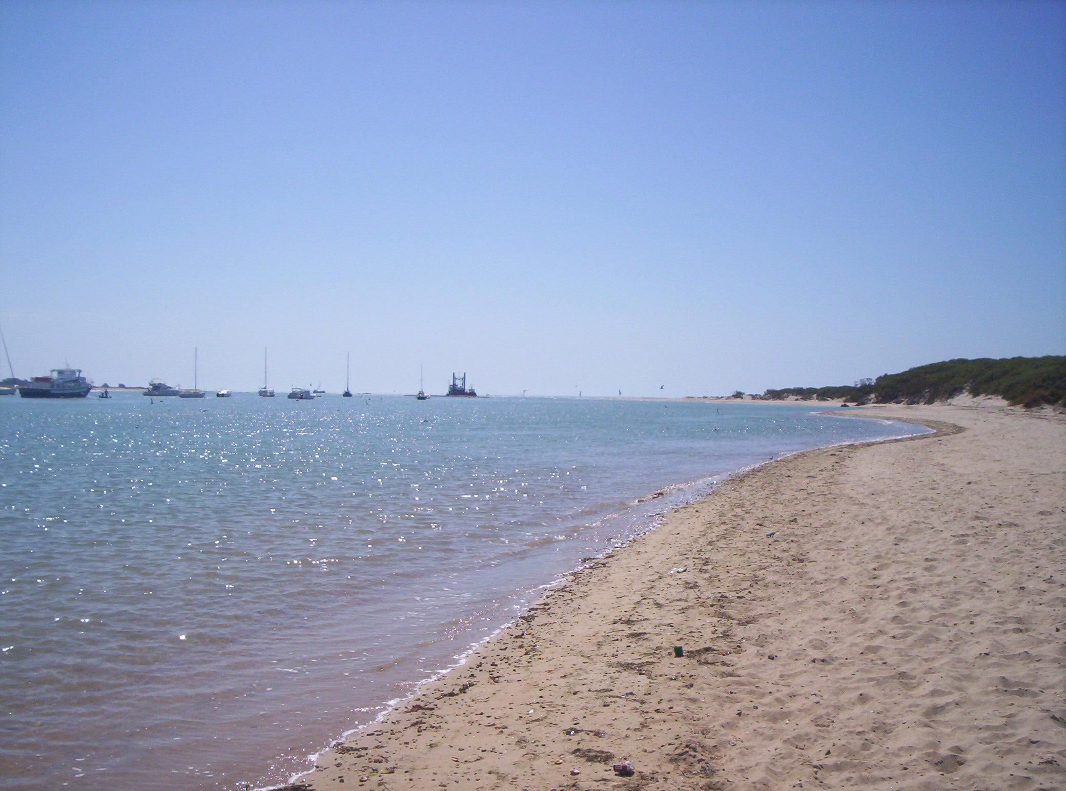 Chiclana de la Frontera beach