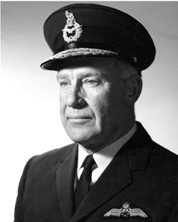 Colin Hannah Royal Australian Air Force chief and Queensland governor
