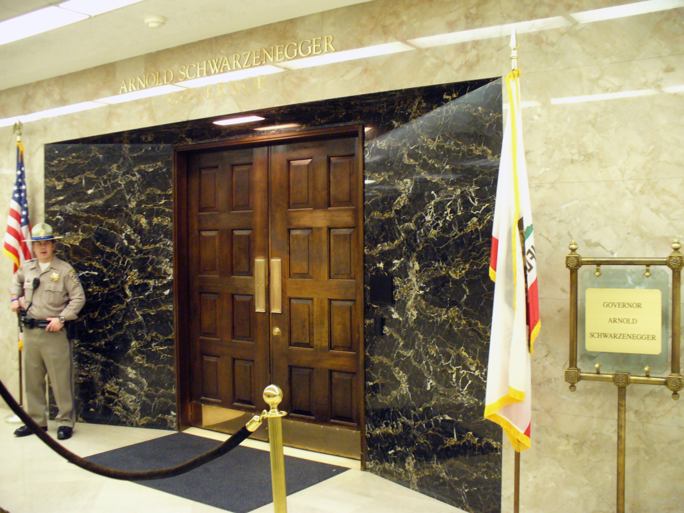 Файл:CaliforniaStateCapitolGovernorOffice.JPG