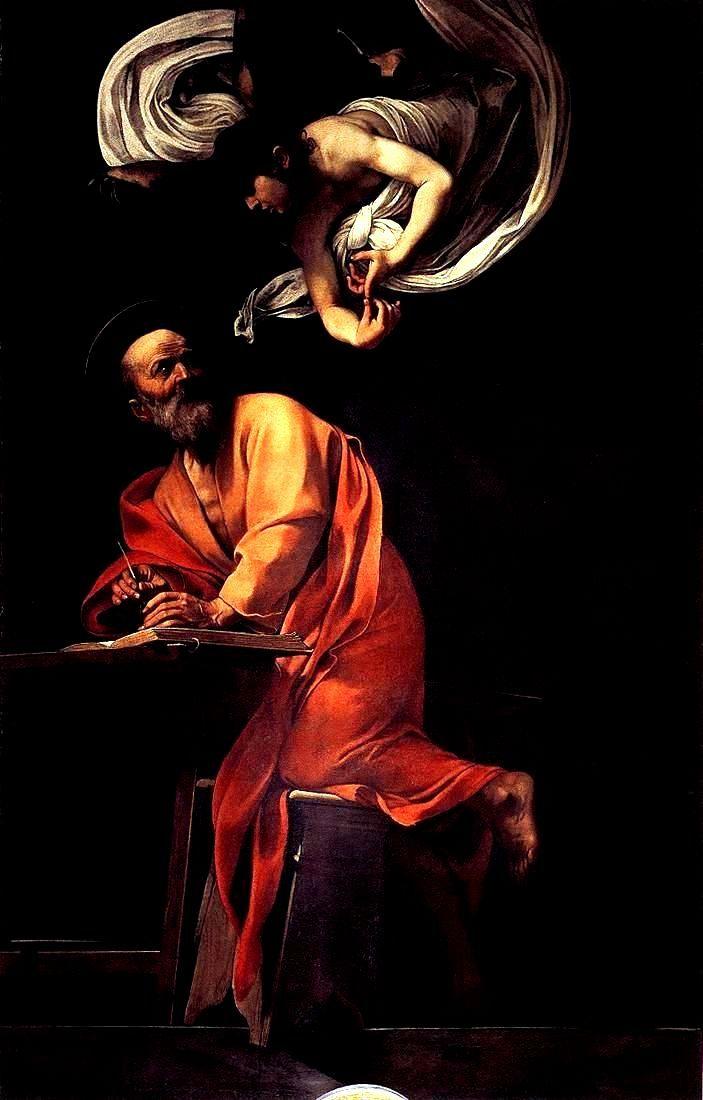 File:Caravaggio - San Matteo e langelo.jpg - Wikimedia ...