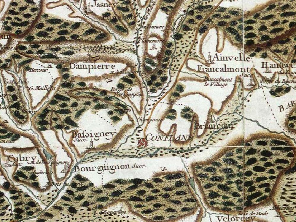 File:Carte Forges de Varigney - Carte de Cassini.jpg - Wikimedia Commons