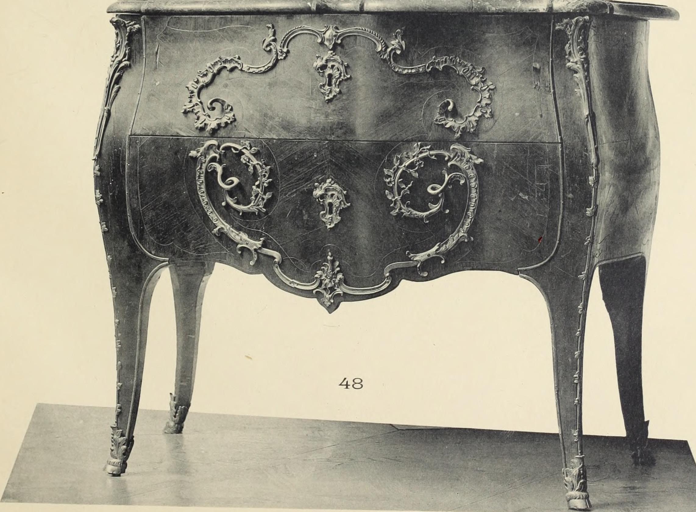 file catalogue des beaux meubles louis xv et louis xvi consoles et glaces fauteuils en. Black Bedroom Furniture Sets. Home Design Ideas