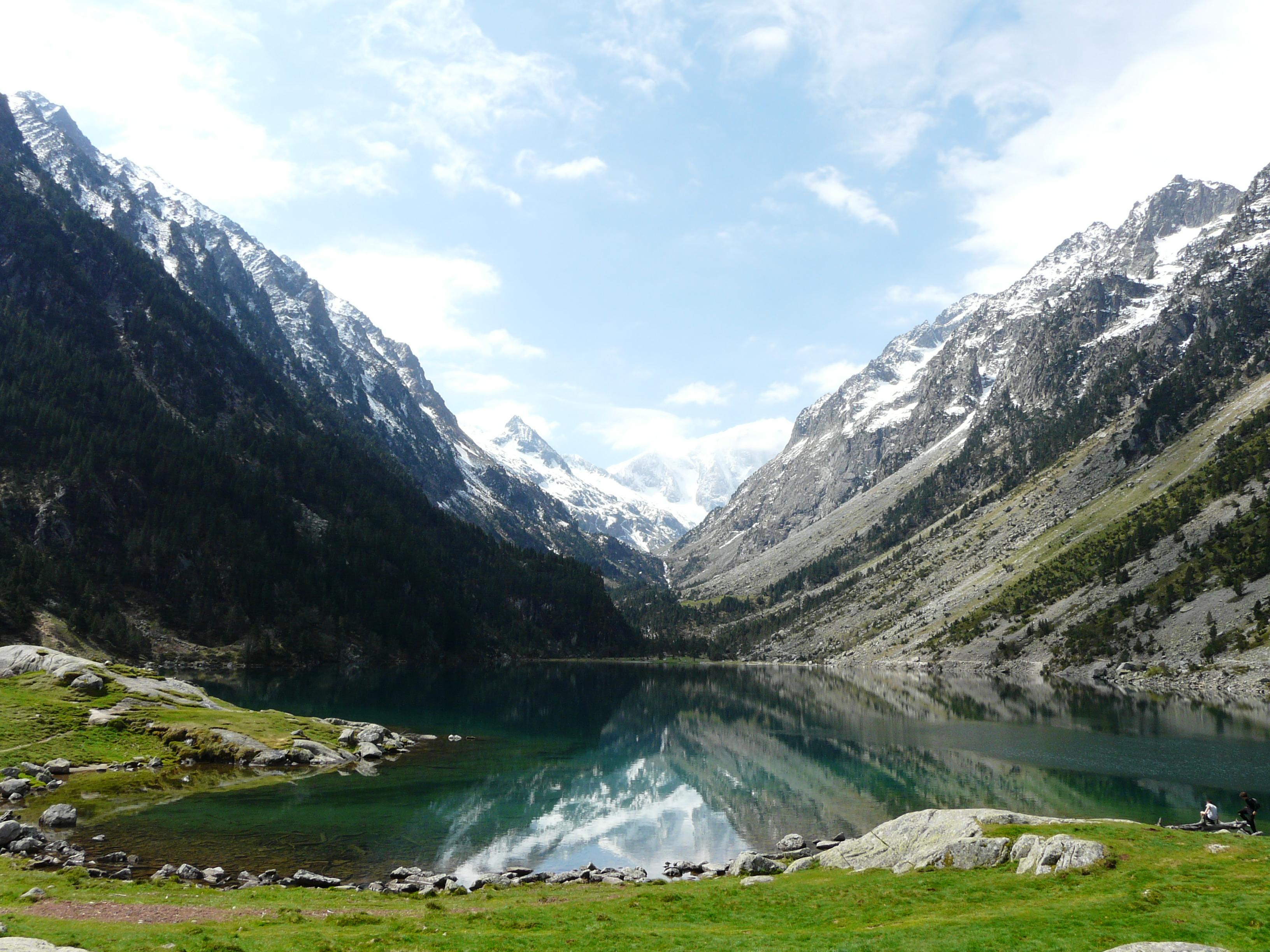 File cauterets lac gaube jpg wikimedia commons - Lac de gaube ...