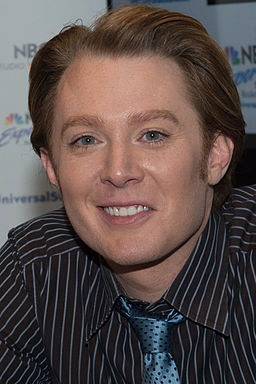 Clay Aiken appearance at NBC Experience Store, Rockefeller Center, NYC on 5-18-2012