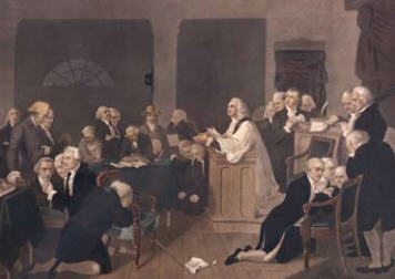 Prayer at the First Continental Congress
