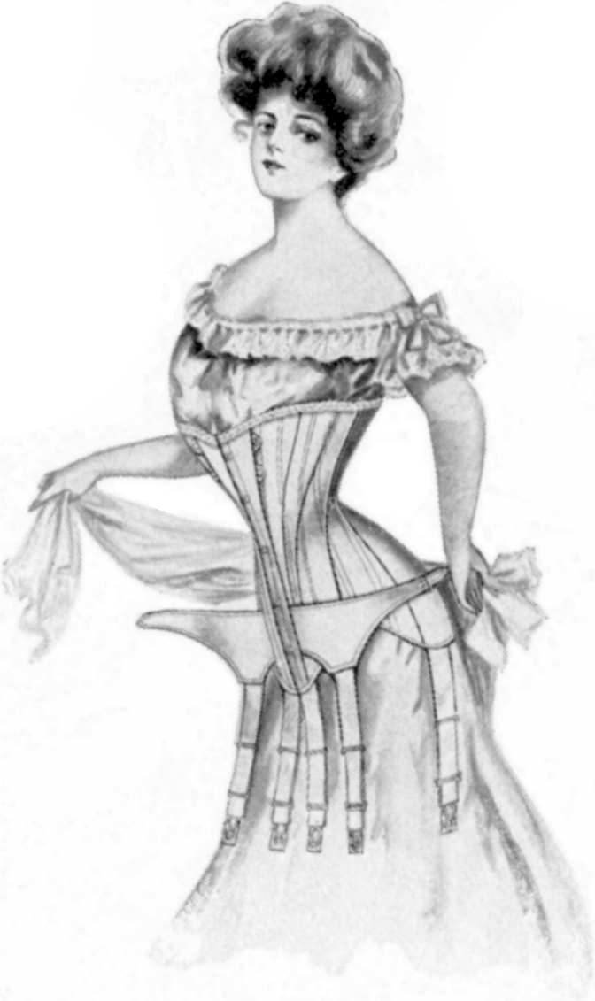 the history and the creation of the corset Object analysis - corsets topics: corset tools for prototype creation the history of the corset differs and it is often argued that corsetry first.