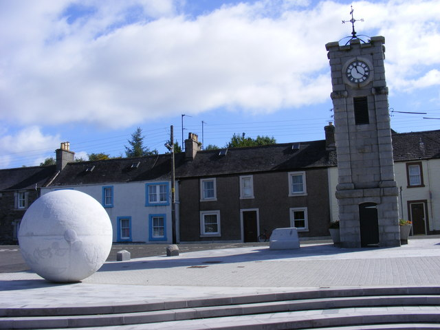 Creetown Square - geograph.org.uk - 844069