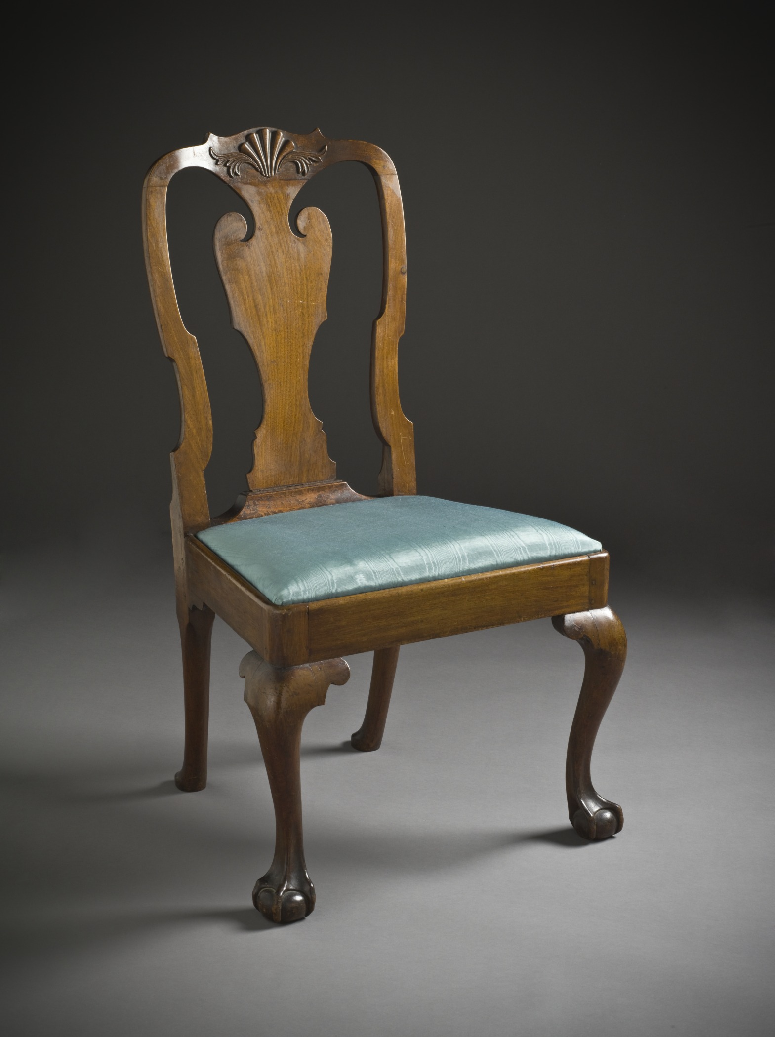 File:Crook Back Side Chair With Slip Seat And Ball And Claw