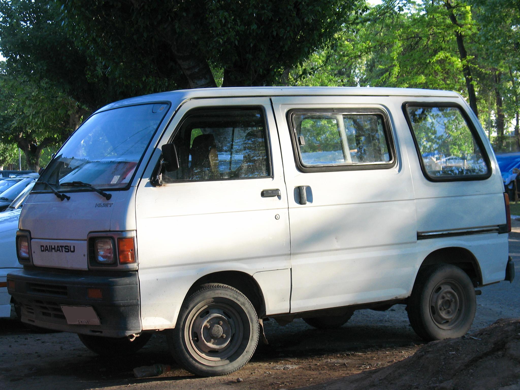 Daihatsu hijet 13 efi engine stuk