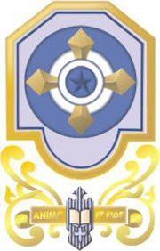 Caption De Mazenod College Logo