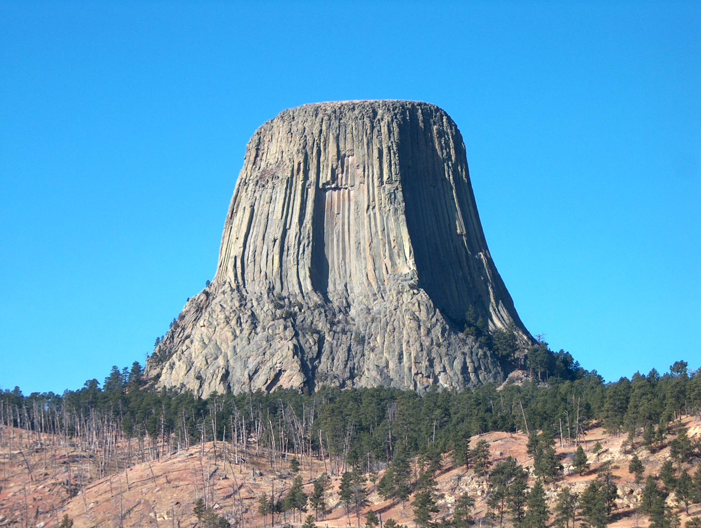 Devils Tower Wy >> Polygon Mountain [1920x1080] : wallpapers