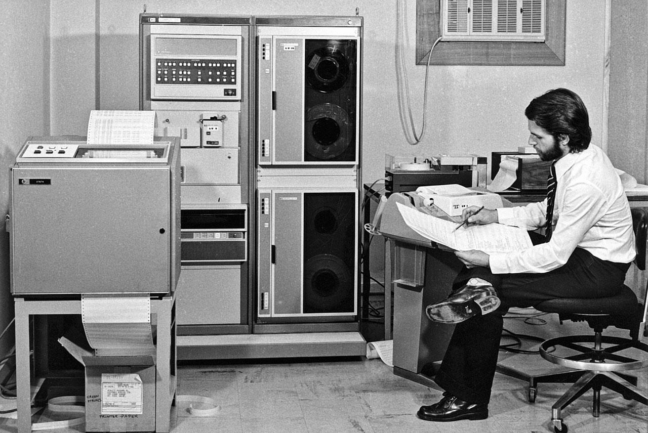 ESO Hewlett Packard 2116 minicomputer.jpg
