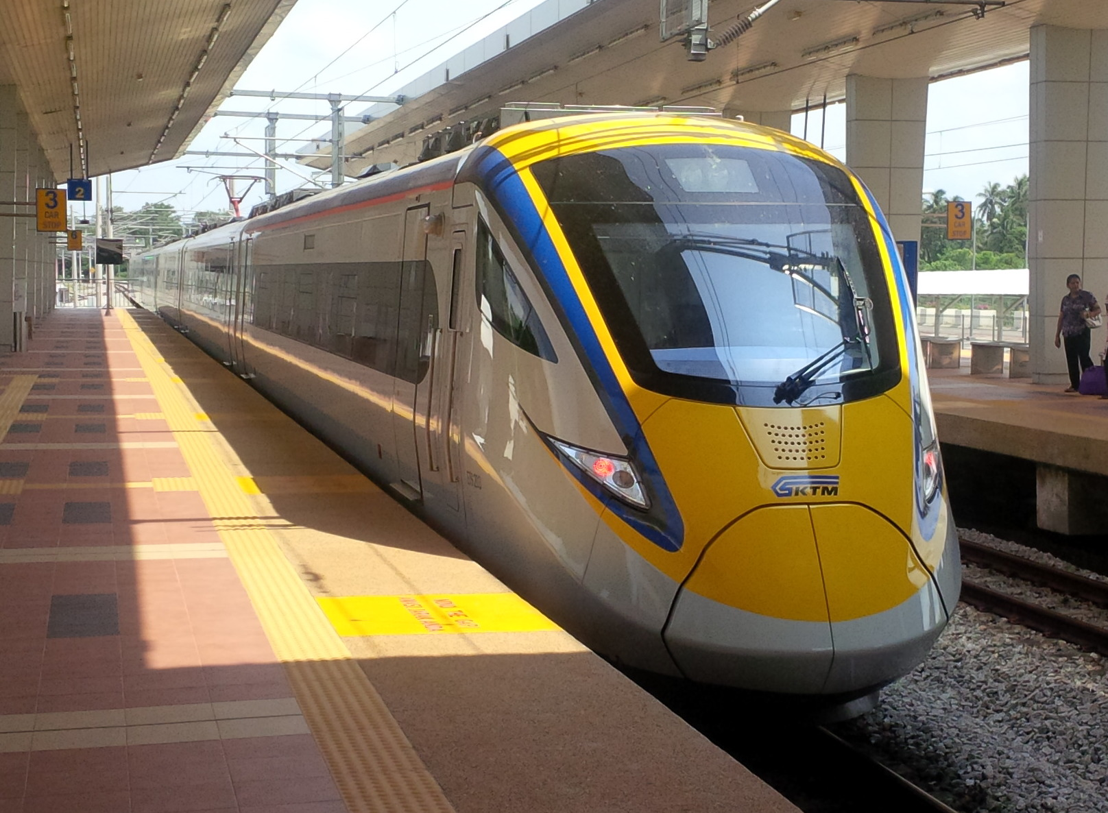 Kl to hatyai train