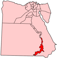 アスワン県の県域