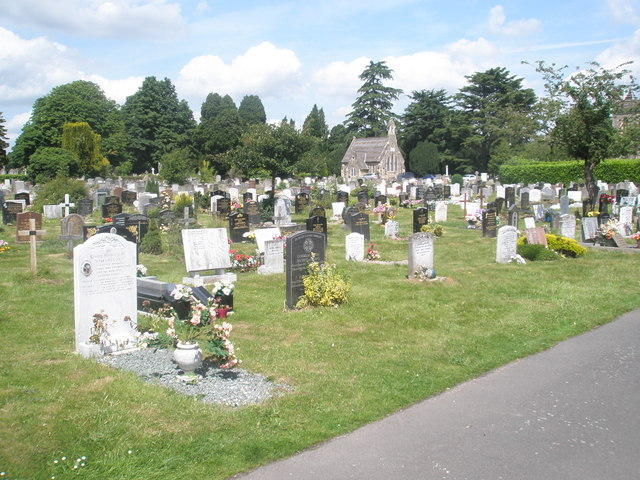 Englefield Green Cemetery (2) - geograph.org.uk - 1360512