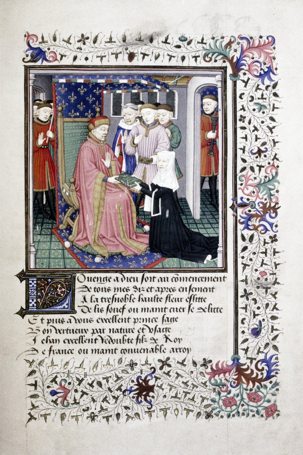 life of christine de pisan Christine de pizan's discourse in the middle ages context due to the long time   de france (pisan, 1399) first days of life, women carry the burden of their.