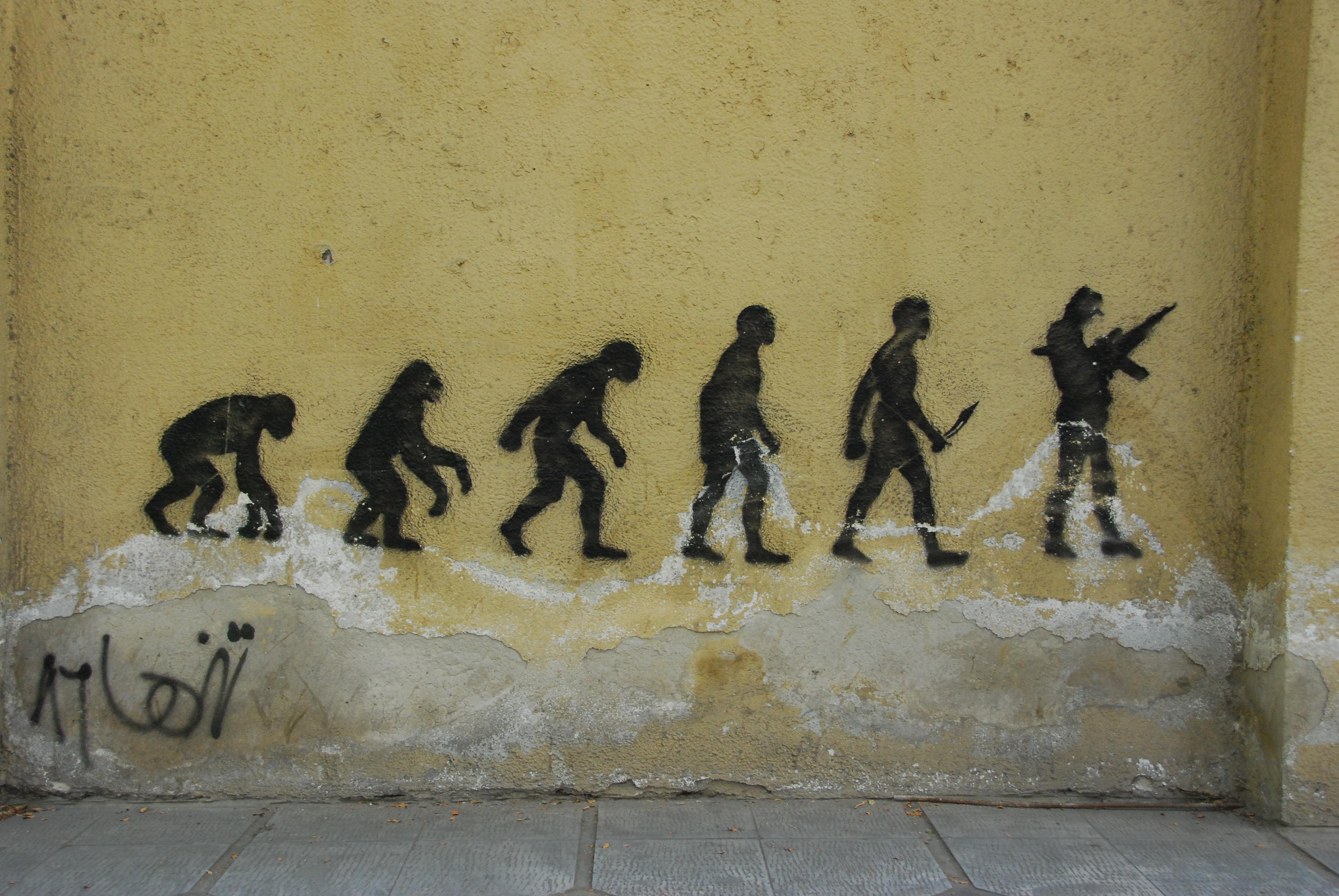 Evolution - zur Waffe