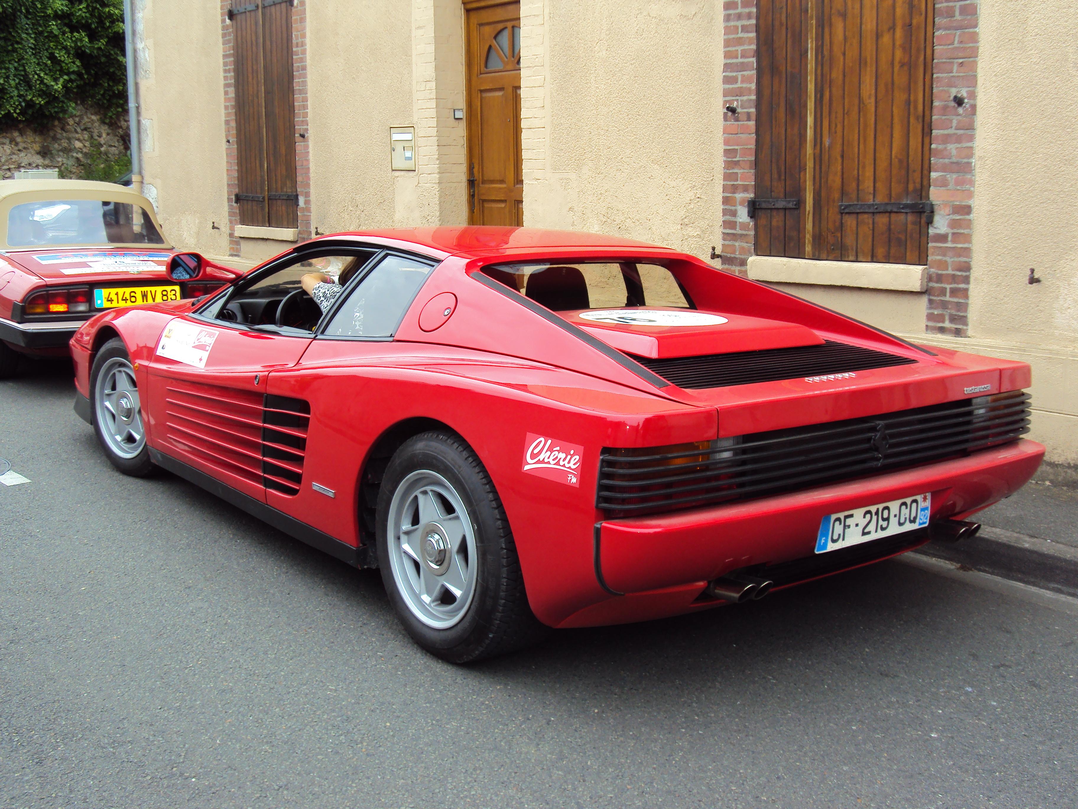 File Ferrari Testarossa 1984 Rallye Des Princesses 2014 Jpg Wikimedia Commons