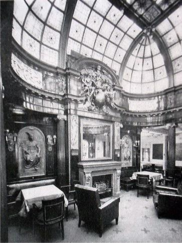 English: First Class Smoking Room of the SS Kr...