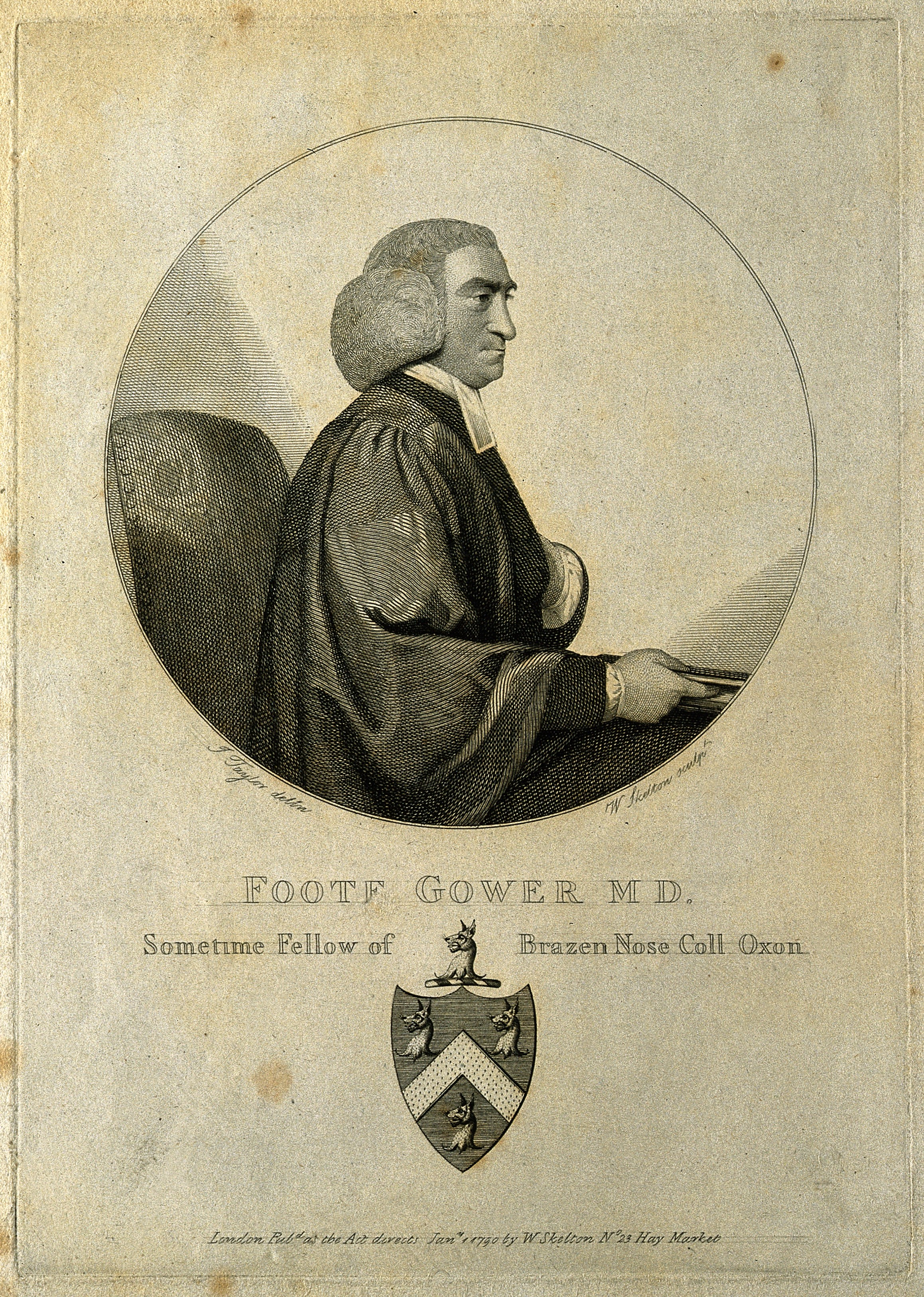 Foote Gower, engraving after [[John Taylor (1739–1838)