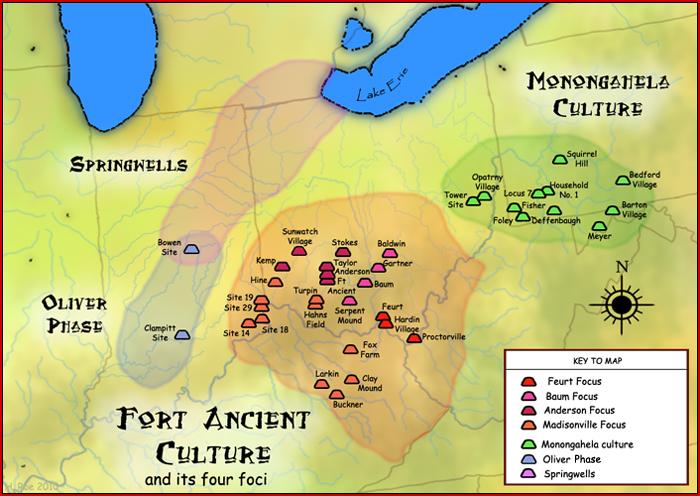 IMAGE(https://upload.wikimedia.org/wikipedia/commons/c/c3/Fort_Ancient_Monongahela_cultures_HRoe_2010.jpg)