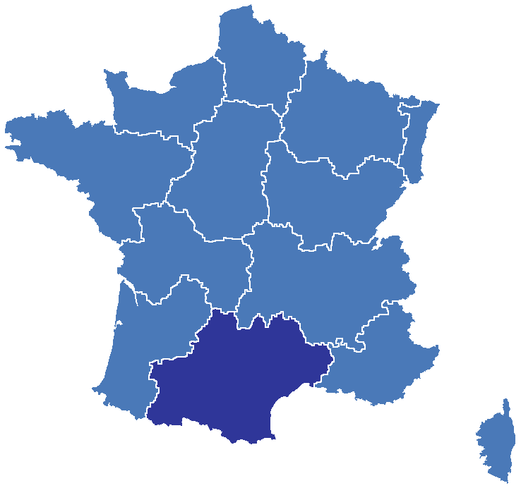 France Map With Regions.France 3 Midi Pyrenees Wikipedia