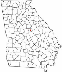 FileGAMapdotonMilledgevillePNG Wikimedia Commons - Georgia map milledgeville