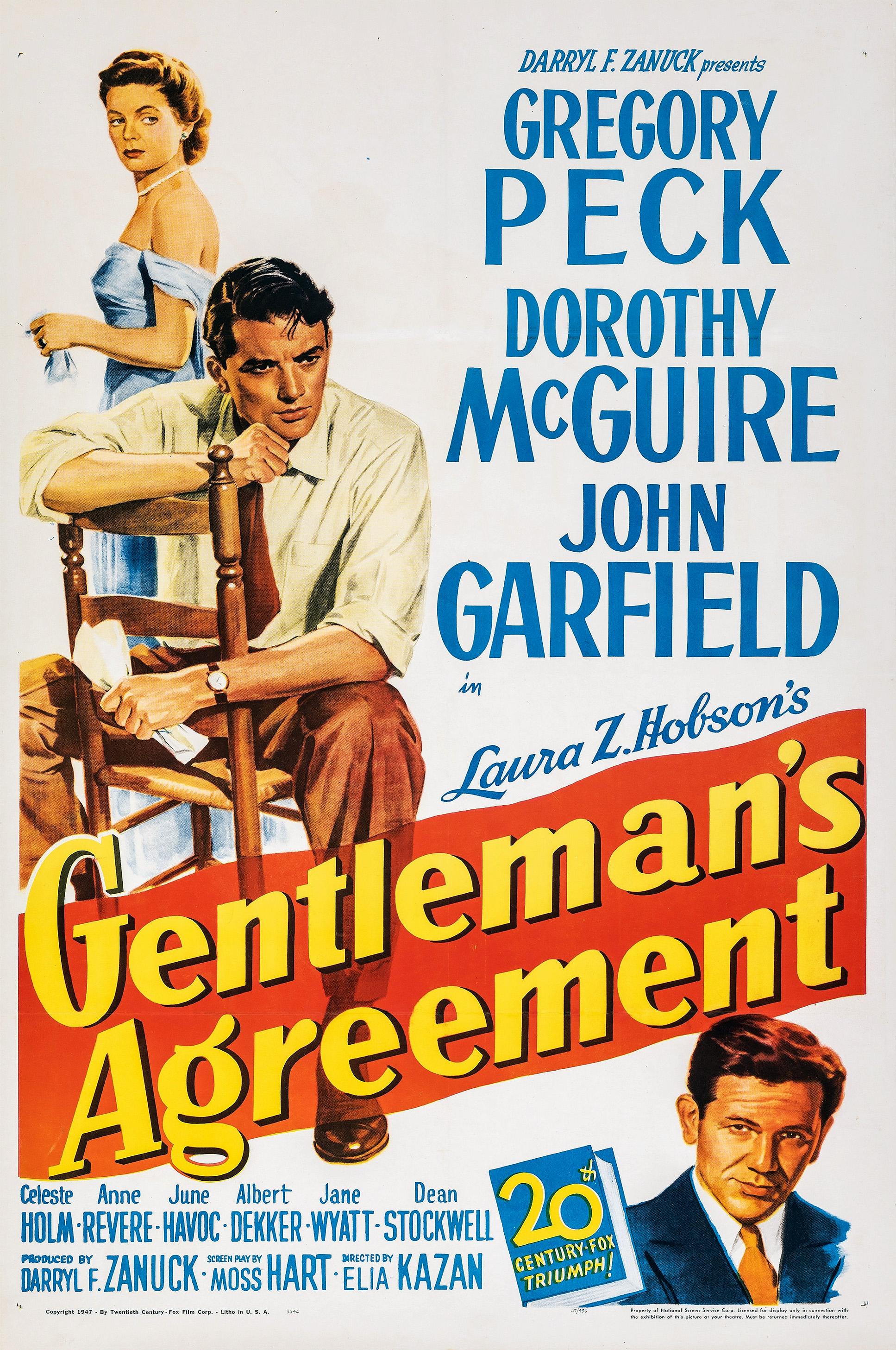 Gentleman's Agreement - Wikipedia