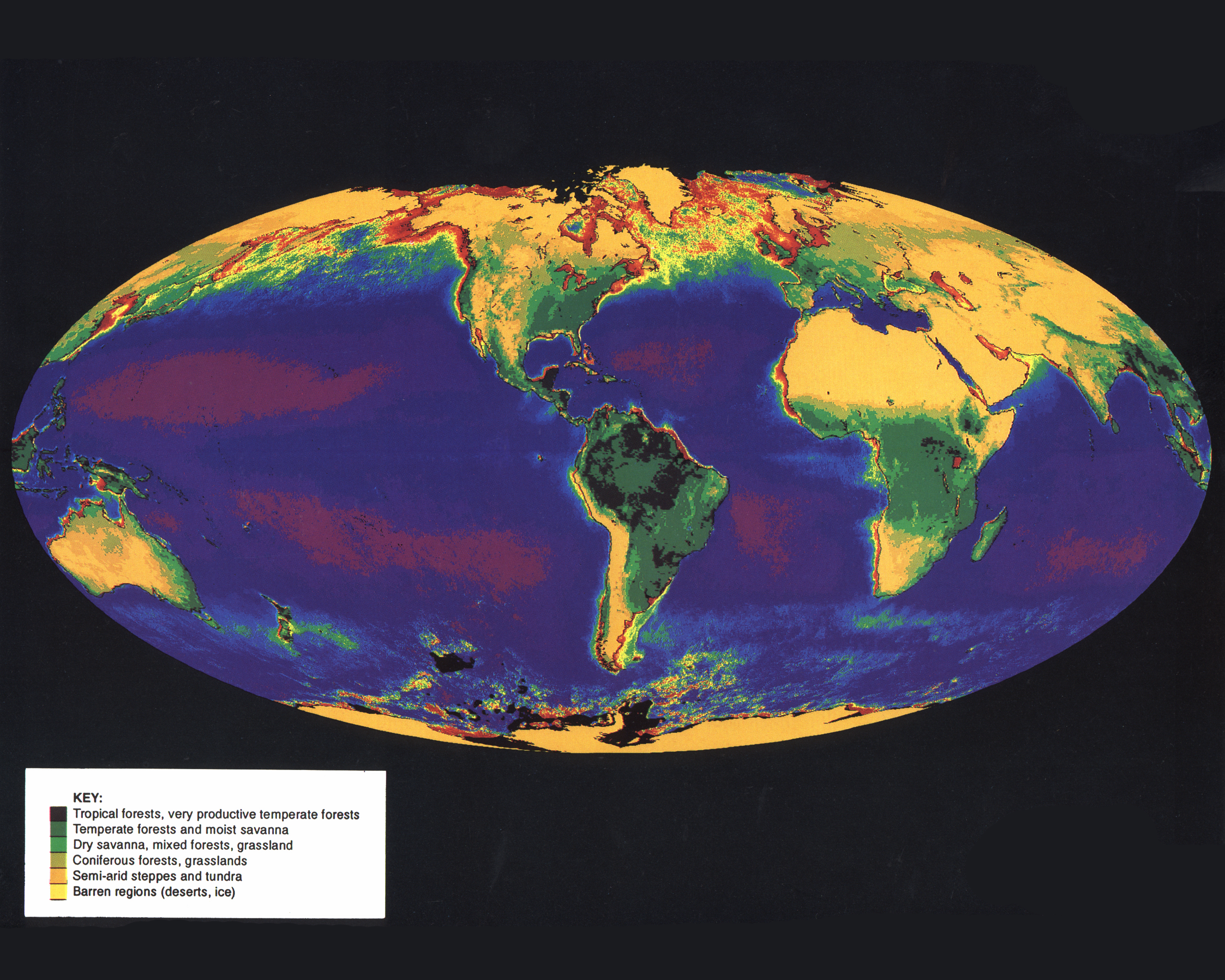 Picture of: World Online Vegetation And Plant Distribution Maps Library Guides At Uc Berkeley
