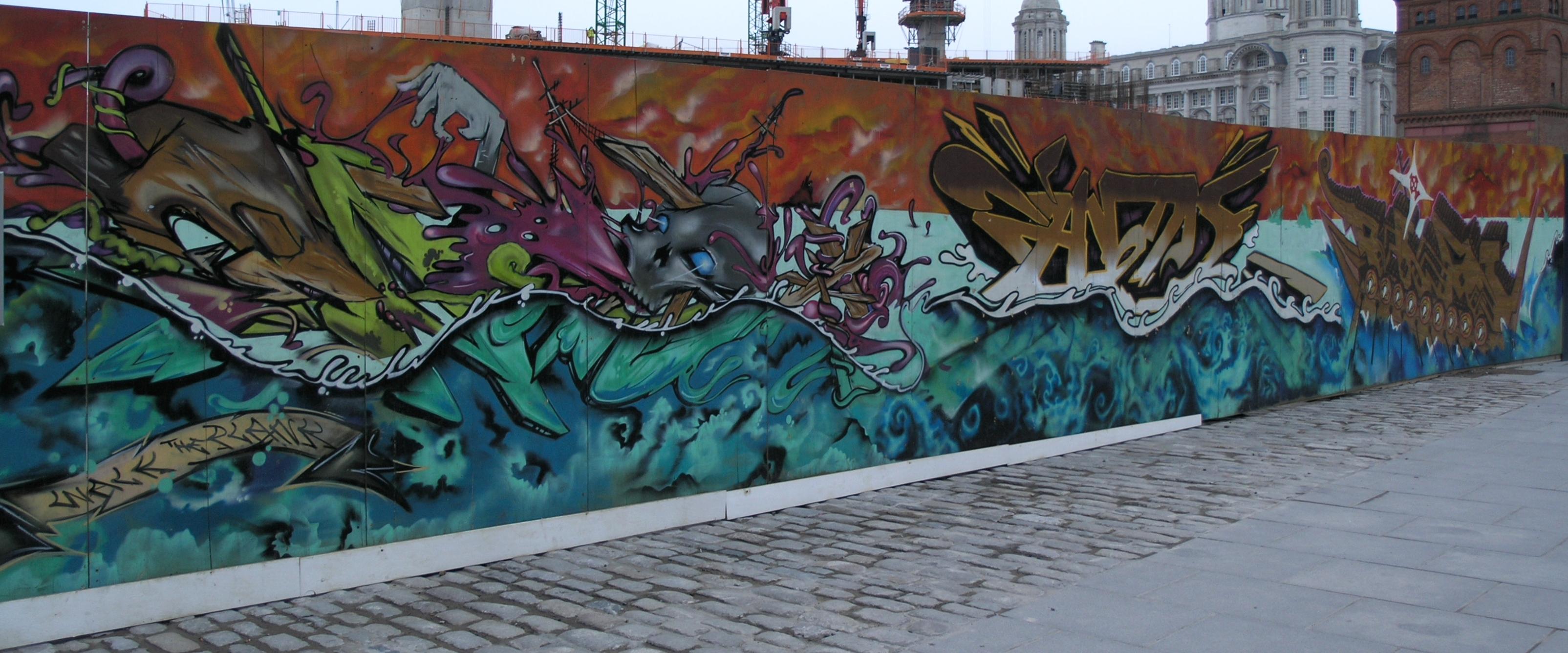 Street art in Liverpool