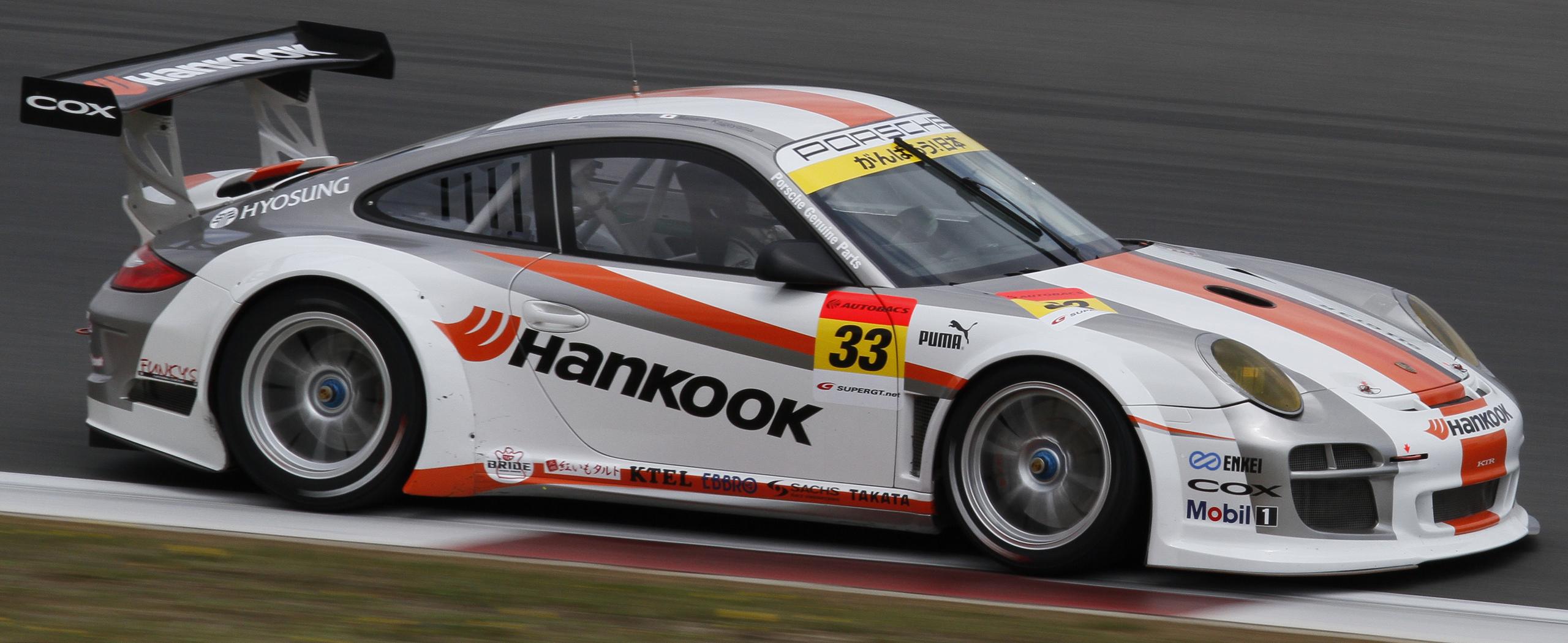 File Hankook Ktr Porsche 911 Gt3r 2011 Fuji Test Jpg