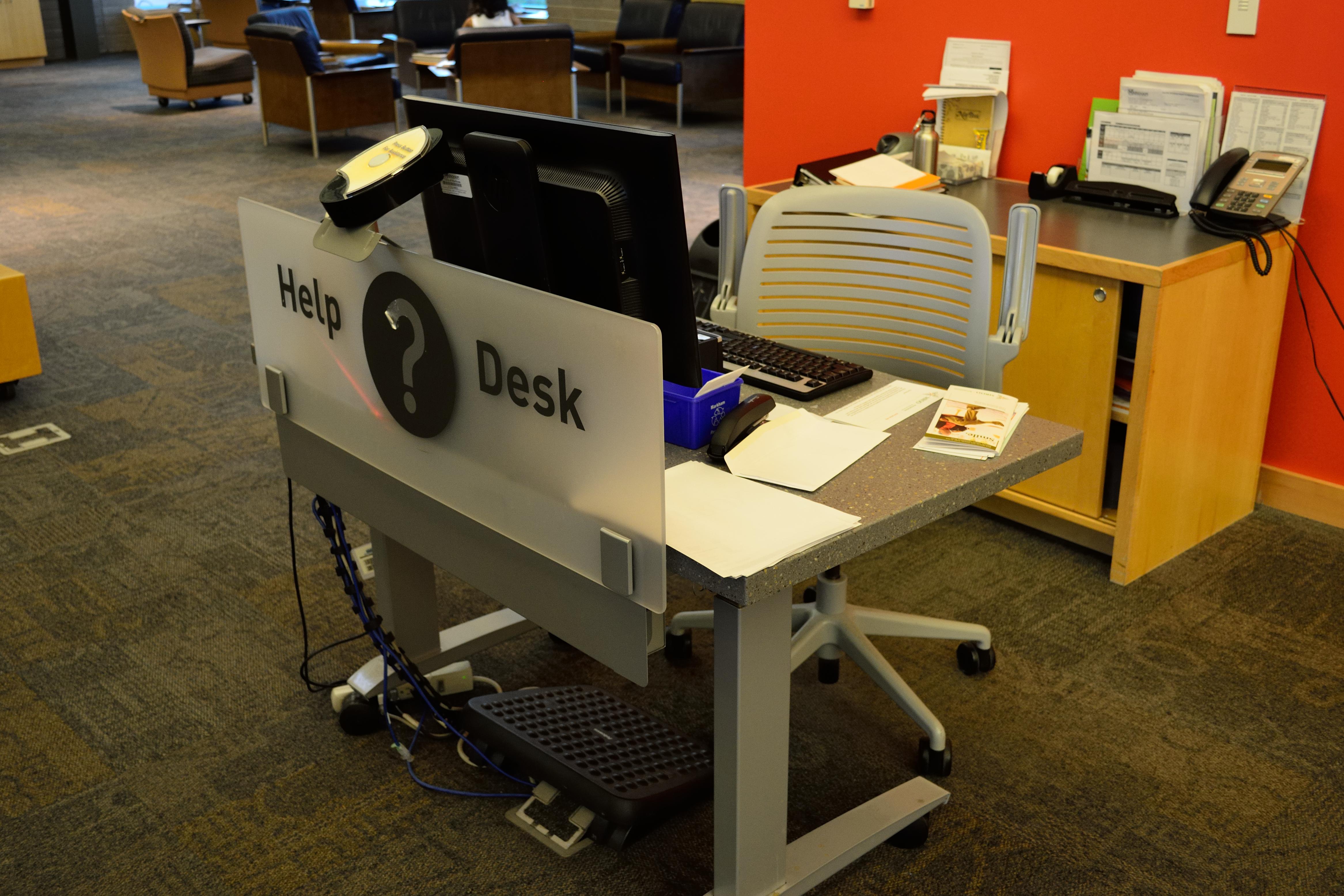 Help Desk Wikipedia