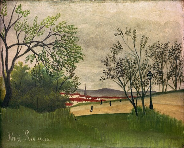 File:Henri Rousseau - Landscape with church spire.jpg