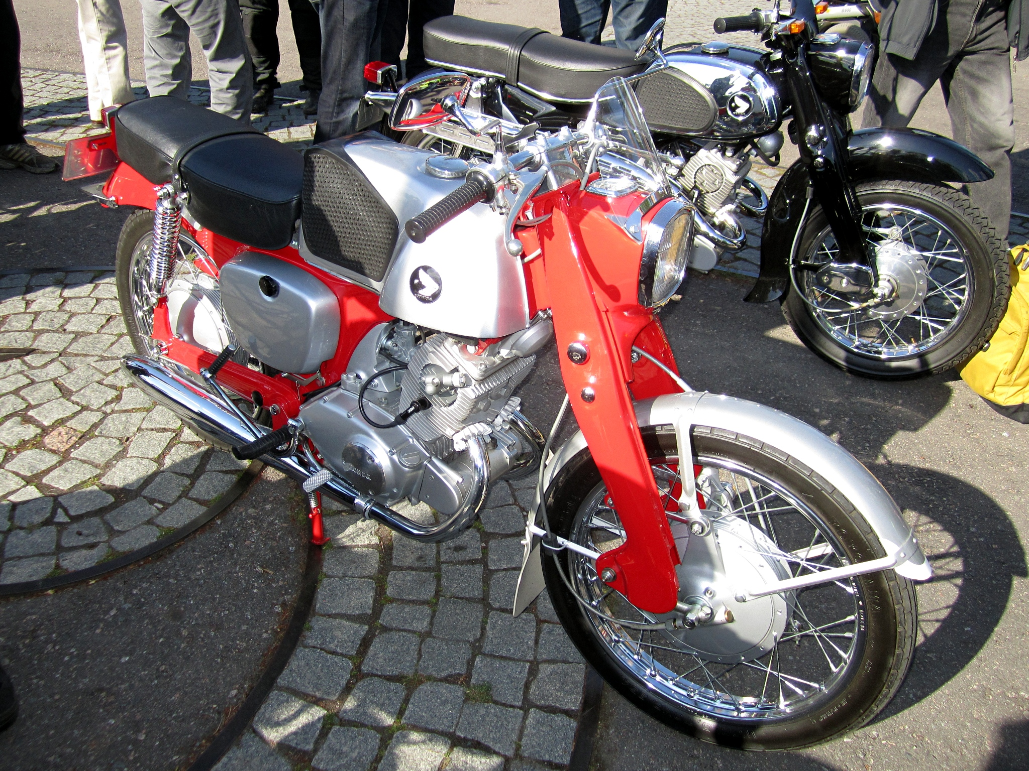 File Honda Cb92 Benly Supersport 125cc 3 Jpg Wikimedia Commons